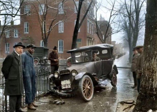 Car Accident 1921
