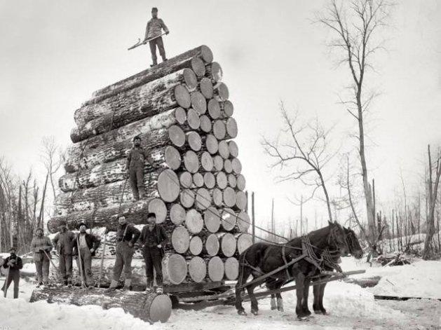 Loggers - Michigan 1890