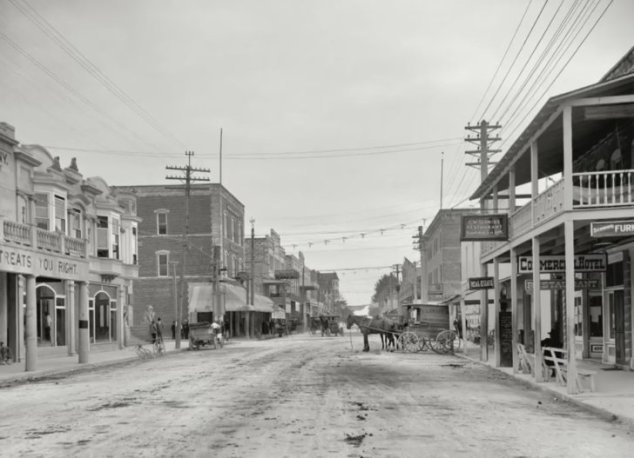 Miami - 12th St, 1908