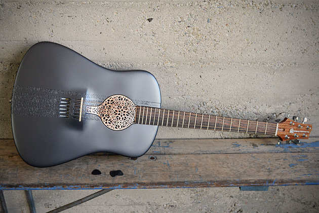 Guitar, Acoustic, 3D Printer