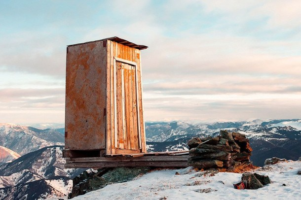 Outhouse on Mountain