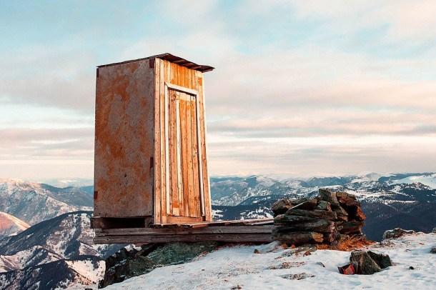 Outhouse on Mountain