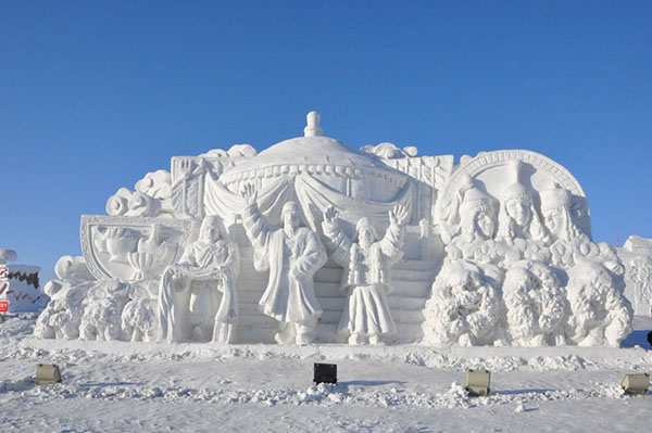 China - Giant Ice Sculpture5