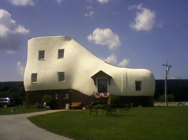 Shoe Shaped House