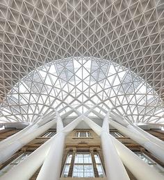 Kings Cross Station - Metal Roof