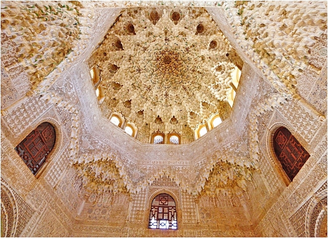 Hall of the Two Sisters - Alhambra, Spain