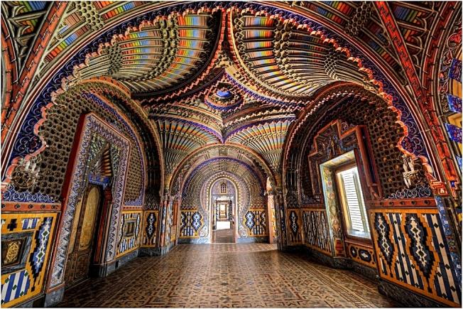 Peacock Room - Sammezzano Castle, Italy