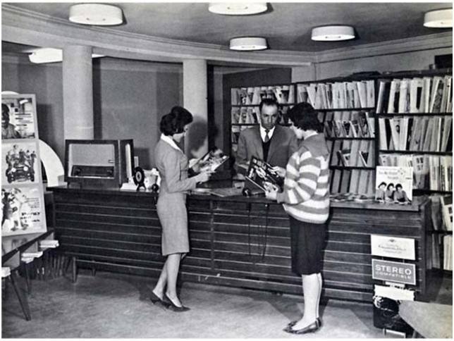 Afghan women, public library before Taliban