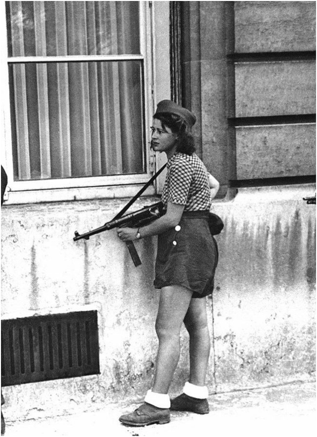 French Resistance Fighter, Paris