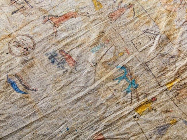 Lakota History Cloth