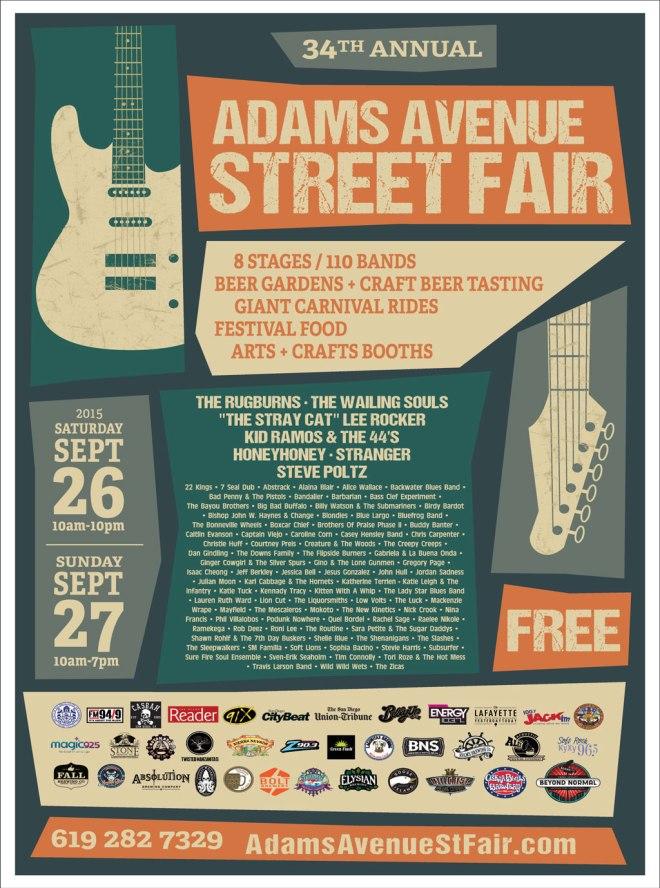 Adams Ave StreetFairPoster2015