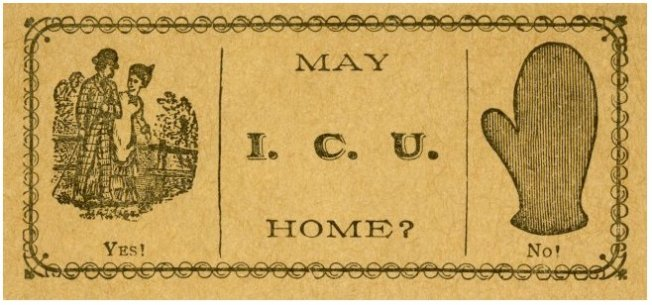 Calling Card, Victorian, Smithsonian