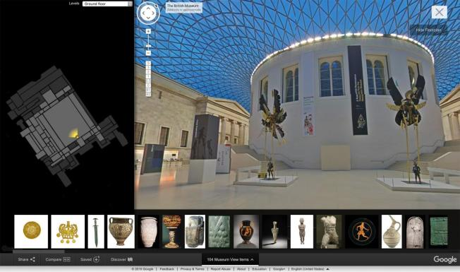 Google View British Museum