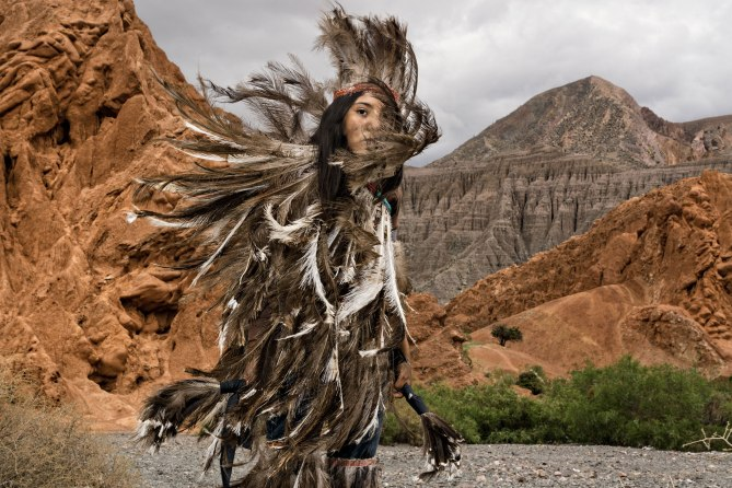 Indigenous Argentina Woman, NatGeo