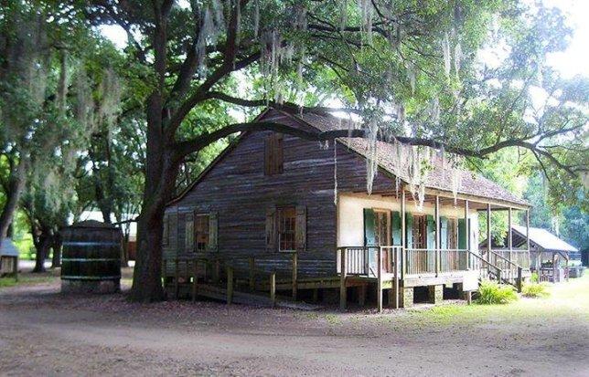 Slave Revolt, Destrehan Plantation, Smithsonian