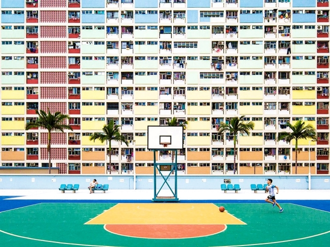 Hong Kong, High Rise Playground