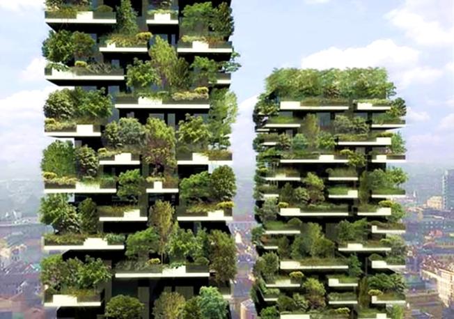 Vertical Forest, Milan, OffGridQuest_com