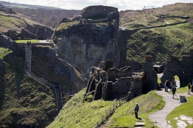 King Arthur, Tintagel Excavation, Smithsonian