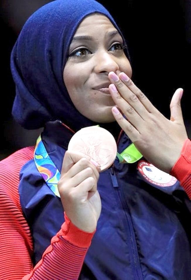 Olympic, Bronze, Fencing, Hijab, Ibtihaj Muhammad, USMag_com